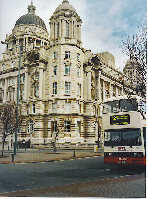 Port of Liverpool Authority Building.