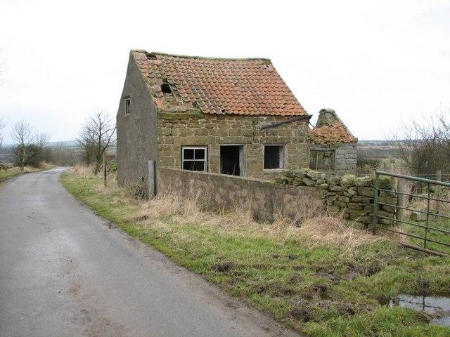 Derelict old house in Gerrick