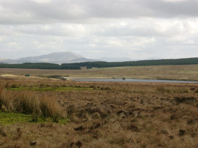 From the east slope of Dunside Rig to the Logan Reservoir.