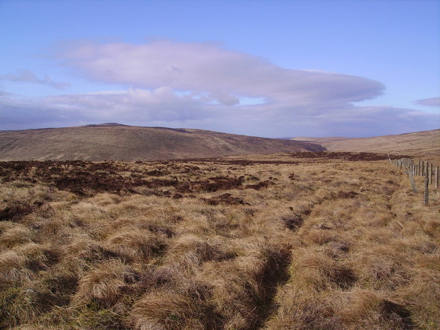 Descending Baxton Fell