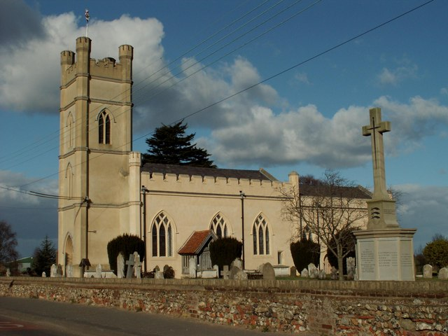 St. Mary and All Saints church, Rivenhall, Essex