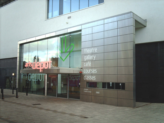 Entrance to the Arts Depot