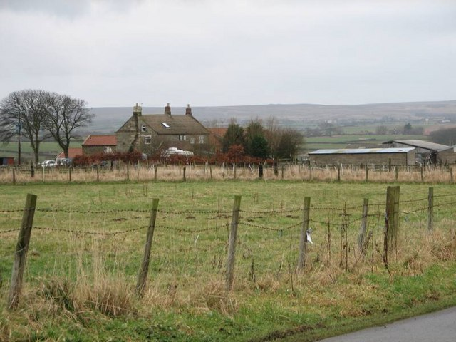 Holywell Farm taken from the road