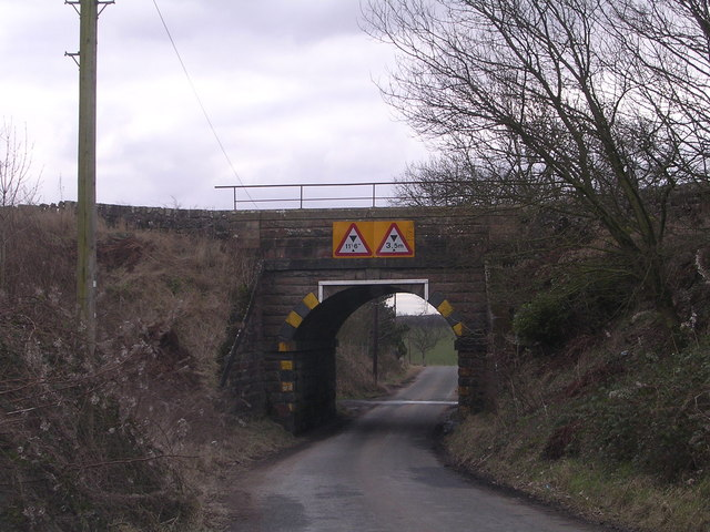 Railway Bridge near Drumbreck