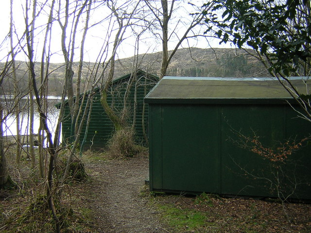 Hut and Boathouse at Lochaber Loch