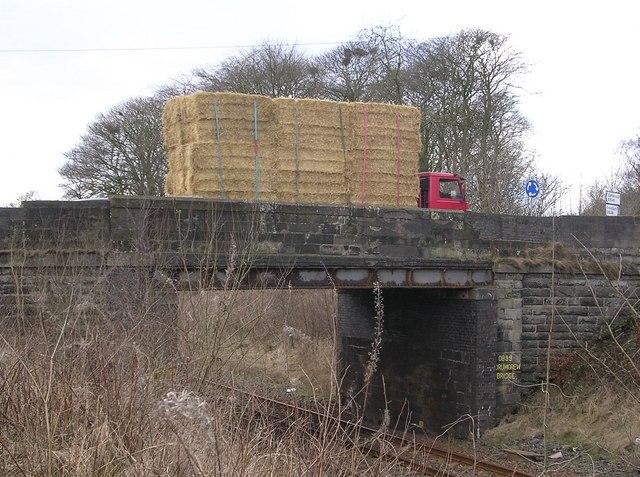 Drumgrew Bridge plus Truck of Haybales