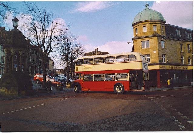Market Square, Alnwick.