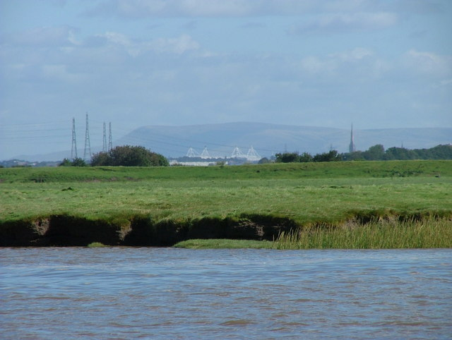 Pendle Hill from River Douglas