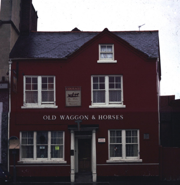 The Old Waggon & Horses c1963