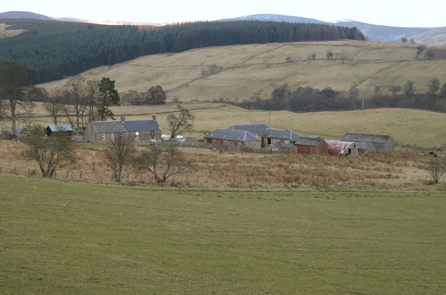 Crossbog Farm, lower Glen Clova.