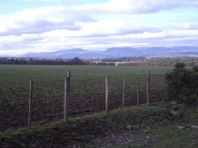 Fields below West Park