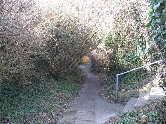 Chantry footpath