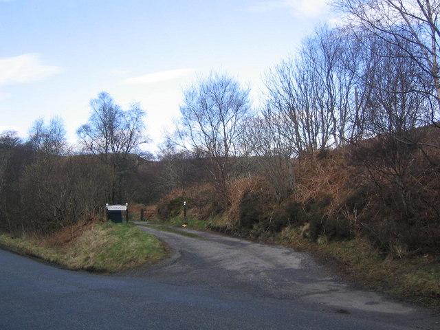 Barrnacarry Farm Track
