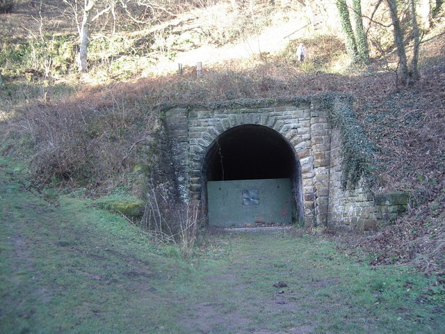 Tunnel entrance, Whitby to Middlesbrough railway north of Sandsend