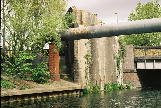Pipe Bridge over Regent's Canal