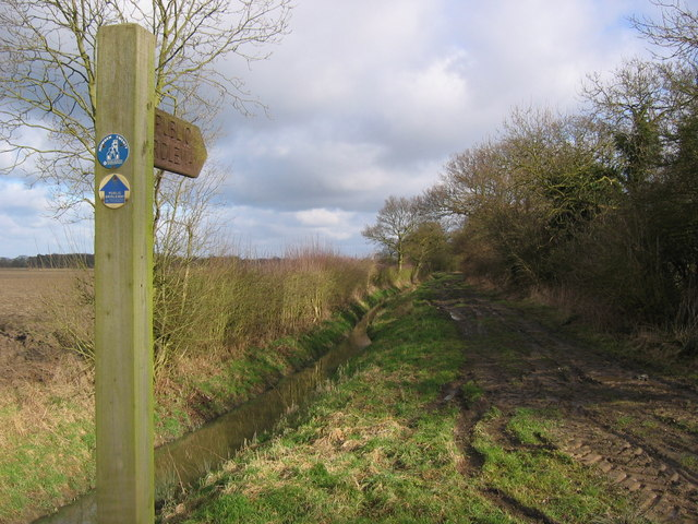 Bridleway North of North Howden
