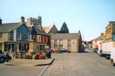 Tregaron Market Place