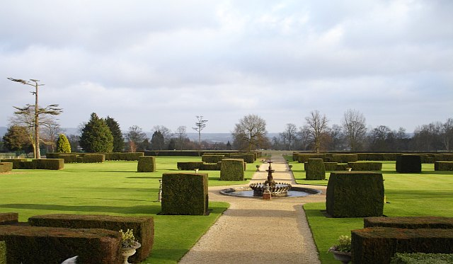 Gardens at Eastwell Manor, Boughton Lees