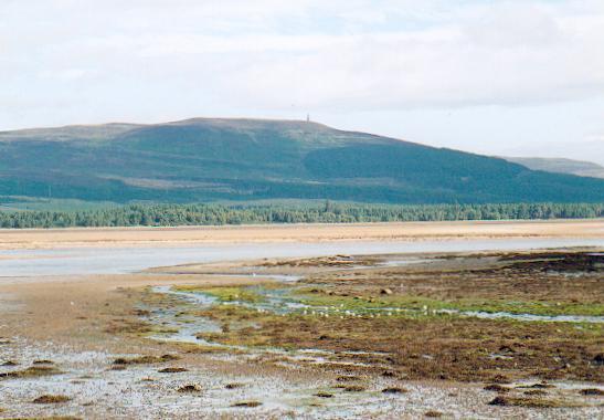 Tidal flats Loch Fleet