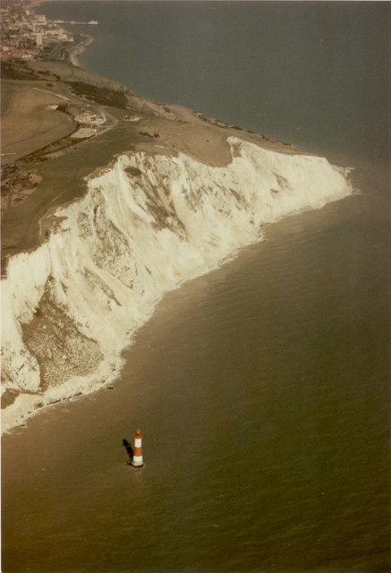 Beachy Head from the air