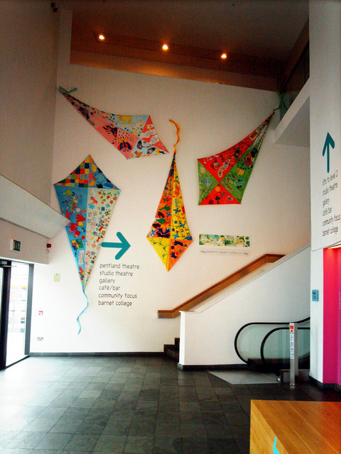 Multi-colour Kites