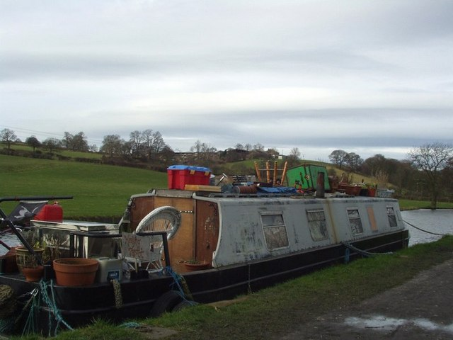 Canal boat, Calverley