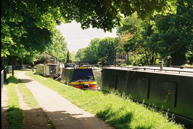 Regent's Canal, Victoria Park