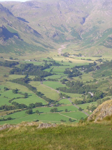The head of Great Langdale