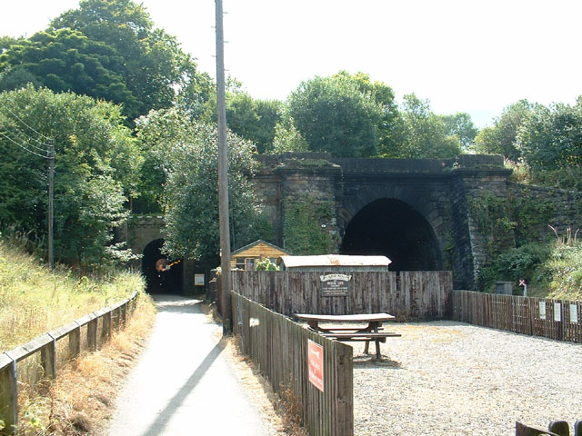The tunnels at Grosmont Station