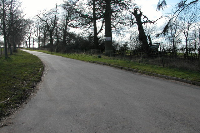 Driveway to Llanwarne Court