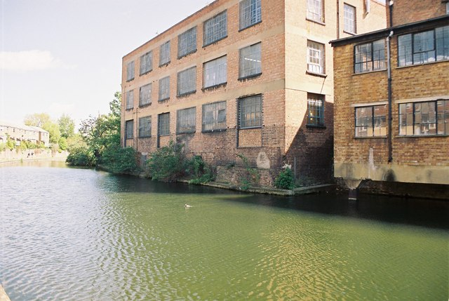 Industrial buildings, Cambridge Heath