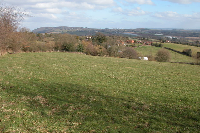 The view east from Orcop Hill