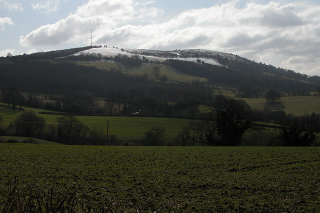 View of Garway Hill from Crab's Castle