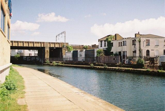 GER crossing Regent's Canal