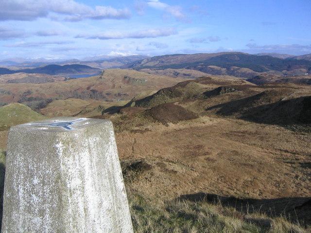 Summit of Beinn Mor