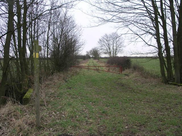 Bridleway to Hasholme