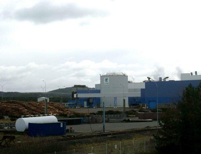 Irvine Pulp Mill