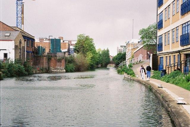 Regent's Canal, Hoxton