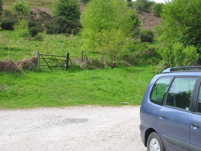 Walkers' car park