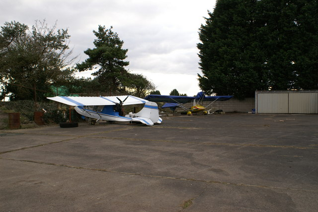 Micro Light Aircraft at Westonzoyland Airfield
