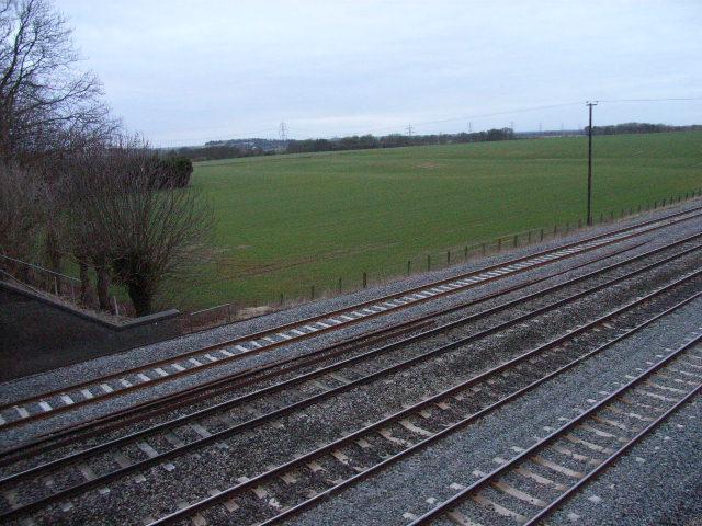 The railway near Cholsey