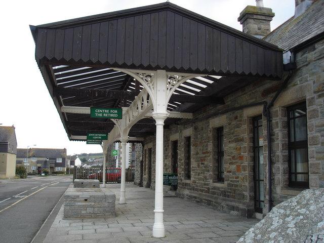 Former Station at Wadebridge