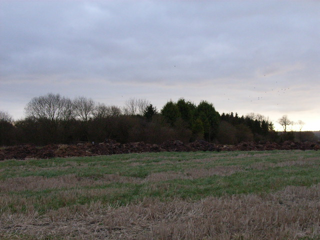 Farmland near Hagbourne Mill