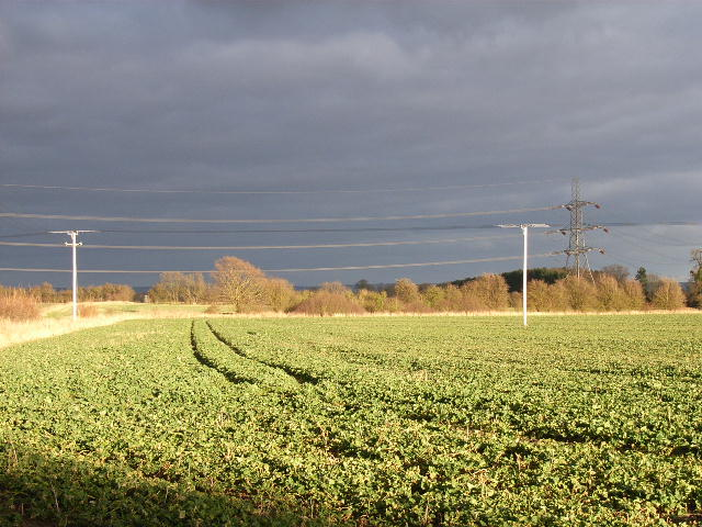 Farmland at East Hagbourne