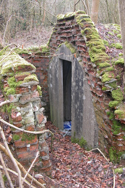 Air Raid shelter in Withington Woods