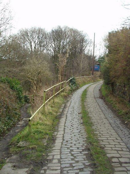 Lane to Pack Horse Bridge, Calverley Bridge