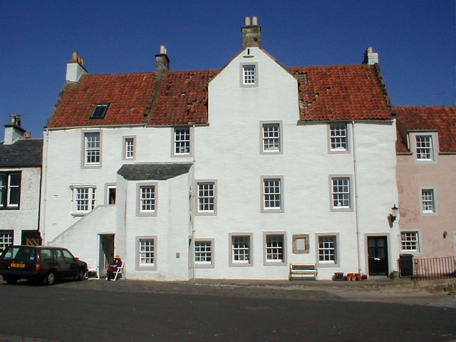 Harbourside houses. Pittenweem
