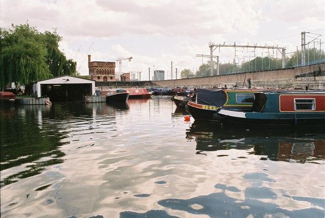 Regent's Canal - St Pancras Basin