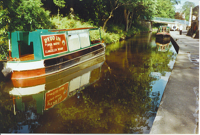 Shropshire Union Canal, Llangollen Wharf.
