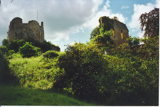 The old Hawarden Castle.